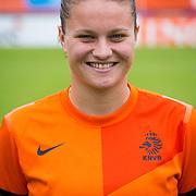 NLD/Velsen/20130701 - Selectie Nederlands Dames voetbal Elftal, Sherida Spitse
