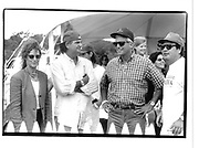 Jean Pagliso, Patrick Demarchelier and Larry Gagosian. Mercedes Benz Cup Polo. Bridgehampton. 5 August 1995.© Copyright Photograph by Dafydd Jones 66 Stockwell Park Rd. London SW9 0DA Tel 020 7733 0108 www.dafjones.com