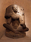 A Yogini witch, Tamil Nadu, India. Chola Period IX-X Century