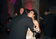 DAVID WEBSTER; NANCY DELL D'OLIO, Stephen Webster: 7 Deadly Sins And No Regrets - launch party, Old Vic Tunnels (formerly Leake Street Tunnel), Waterloo, London SE1, 8 December 2010. DO NOT ARCHIVE-© Copyright Photograph by Dafydd Jones. 248 Clapham Rd. London SW9 0PZ. Tel 0207 820 0771. www.dafjones.com.