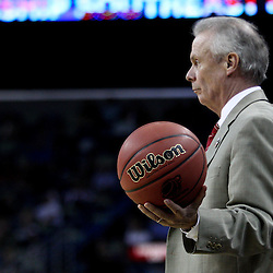 Mar 24, 2011; New Orleans, LA; Wisconsin Badgers head coach Bo Ryan against the Butler Bulldogs during the second half of the semifinals of the southeast regional of the 2011 NCAA men's basketball tournament at New Orleans Arena. Butler defeated Wisconsin 61-54.  Mandatory Credit: Derick E. Hingle