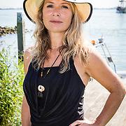 NLD/Muiden/20160825 - Perspresentatie deelnemers Expeditie Robinson 2016, Elle van Rijn