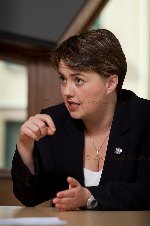 Ruth Davidson, MSP, Leader of the Scottish Conservative and Unionist Party.