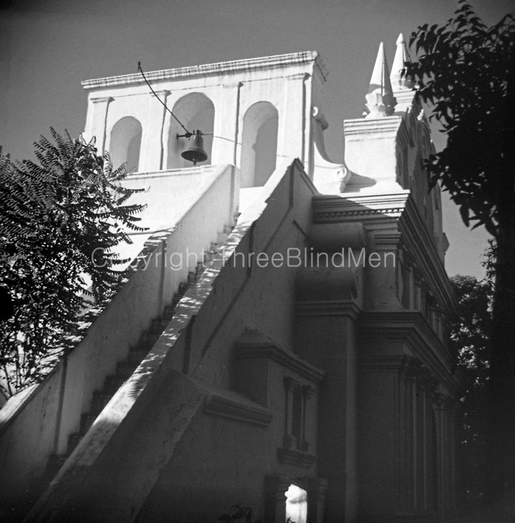 Church of Our Lady of Light, a Roman Catholic shrine in Chennai, India.<br /> It is commonly called as Luz Church by the locals, which derives from the Portuguese name Nossa Senhora da Luz. Built in 1516 by the Portuguese