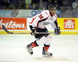Devante Smith-Pelly helped Team OHL to a 2-1 shootout win over Russia in Game 4 of the SUBWAY Super Series in Sudbury, ON on Monday Nov. 15, 2010.  Photo by Aaron Bell/OHL Images