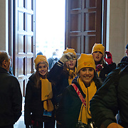 Images from the 2012 March for Life. The Opening Mass on January 22nd at the National Shrine of the Immaculate Conception in Washington DC, celebrated Daniel Cardinal DiNardo from Galveston,Texas the Chair of Pro Life Activities for the USCCB. The procession included hundreds of Clergy and took over 45 minutes.