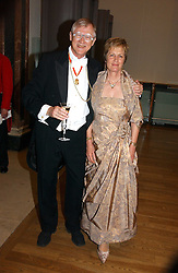 SIR NICHOLAS & LADY GRIMSHAW he is President of the RA at The Royal Academy dinner before the official opening of the Summer Exhibition held at the Royal Academy of Art, Burlington House, Piccadilly, London W1 on 6th June 2006.<br />