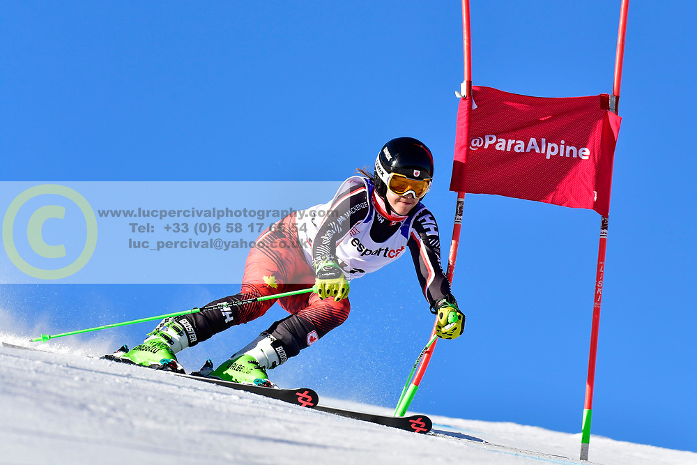 RAMSAY Alana, LW9-2, CAN, Giant Slalom at the WPAS_2019 Alpine Skiing World Cup, La Molina, Spain