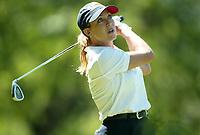Golf. Europatour kvinner. Evian, Frankrike. 15.06.2002.<br /> Cristie Kerr fra USA.<br /> Foto: Laurent Baheux, Digitalsport