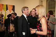 TIM TAYLOR AND LADY HELEN TAYLOR, Alex Katz 'One Flight Up' at the new Timothy Taylor Gallery , 15 Carlos Place. London. 11 October 2007. -DO NOT ARCHIVE-© Copyright Photograph by Dafydd Jones. 248 Clapham Rd. London SW9 0PZ. Tel 0207 820 0771. www.dafjones.com.