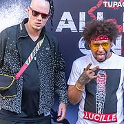 NLD/Amsterdam/20170610 - Premiere All Eyez On Me, Jay Reaper en Skits Vicious van de rapgroep Dope D.O.D.