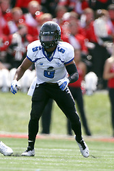 15 September 2012:  Jake Walker during an NCAA football game between the Eastern Illinois Panthers and the Illinois State Redbirds at Hancock Stadium in Normal IL