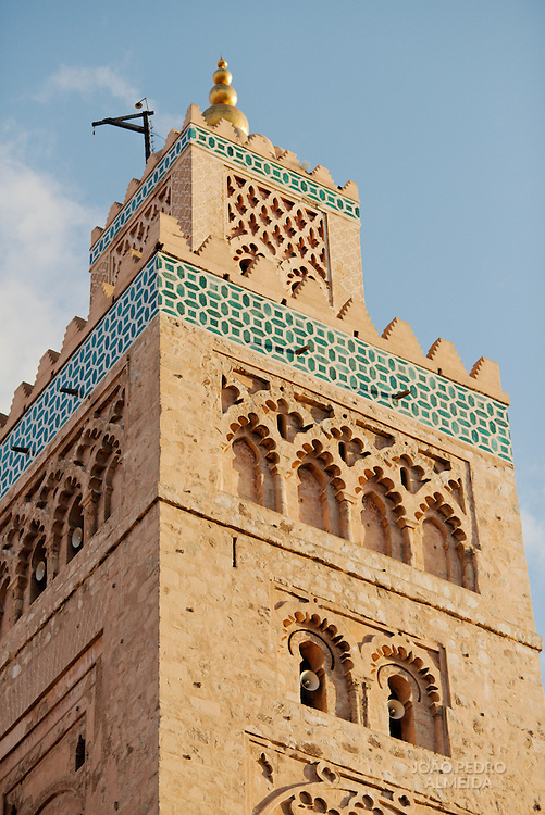 The highest structure of Marrakech, the Koutobia tower