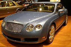 09 February 2006:  2006 Bentley Continental GT. ....Chicago Automobile Trade Association, Chicago Auto Show, McCormick Place, Chicago IL