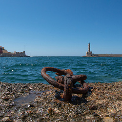 Harbor, Chania, Crete, Greece