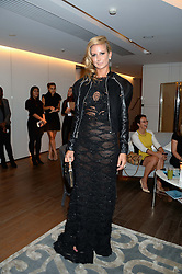 LADY VICTORIA HERVEY at a reception to launch the range of Dr Lancer beauty products held at The Penthouse, Harrods, Knightsbridge, London on 16th September 2013.