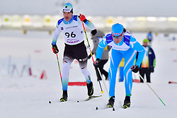 \EHLER Alexander, GER, LW4, KOLYADIN Alexandr, KAZ at the 2018 ParaNordic World Cup Vuokatti in Finland