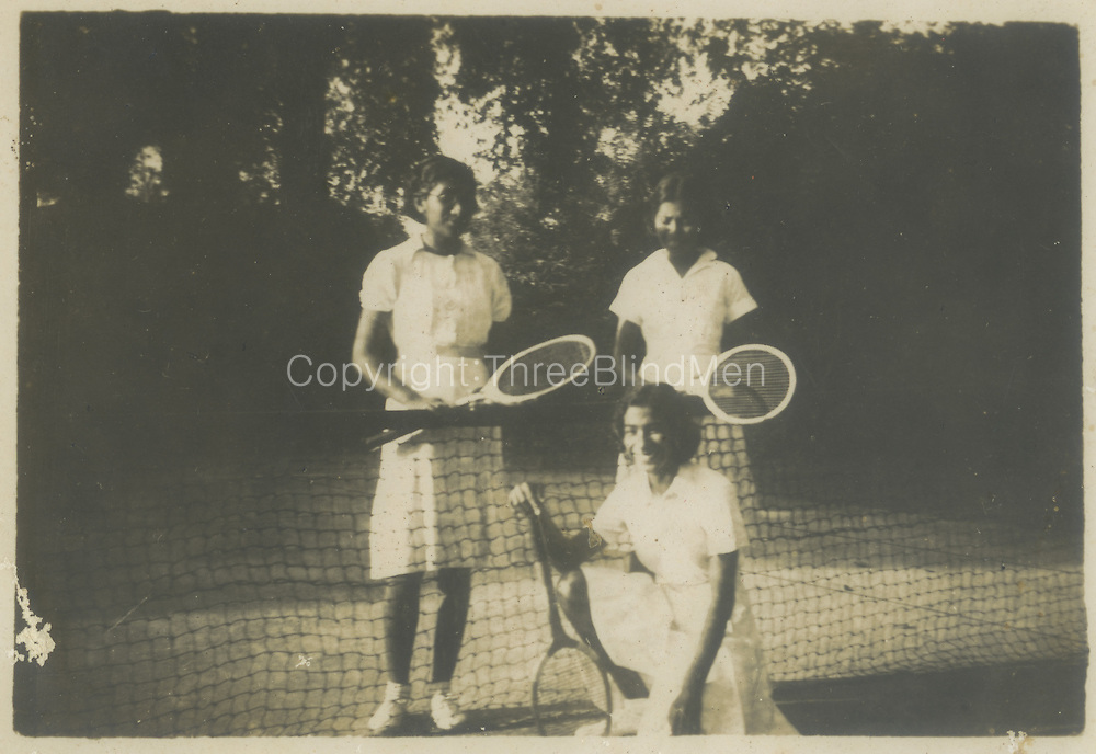 Tennis Players.<br /> Chloe de Soysa Collection