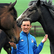 JOCKEY FRANKIE DETTORI AT HIS HOME  IN NEWMARKET..