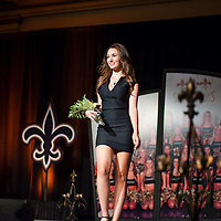 New Orleans Saintsations revealing their 2013-2014 calendars at the Royal Sonesta on August 7, 2013. ©2013, Gustavo Escanelle, All Rights Reserved..