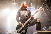 Bryce Paul during In Flames performance at The Phoenix Concert Theatre. <br /> <br /> Toronto. Canada <br /> November 2019