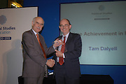 CHRIS MULLIN. Association awards, 2005. Institute of Directors. Pall Mall. London. 29 November 2005. ONE TIME USE ONLY - DO NOT ARCHIVE  © Copyright Photograph by Dafydd Jones 66 Stockwell Park Rd. London SW9 0DA Tel 020 7733 0108 www.dafjones.com