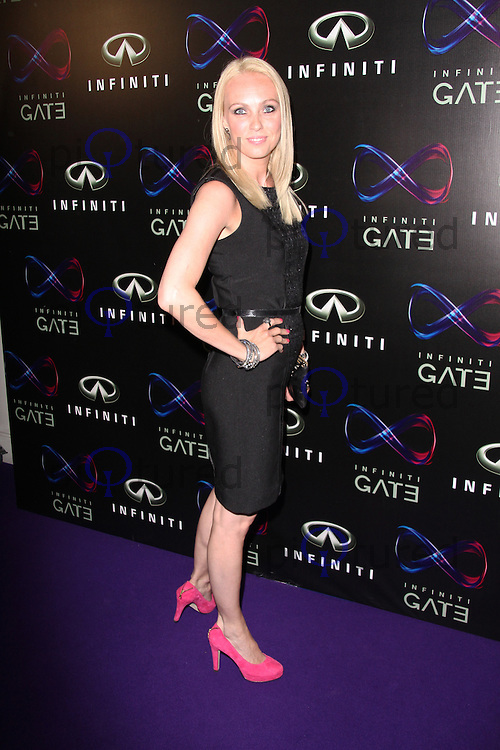 Camilla Dallerup, Infiniti Gate Experience party, London Film Museum UK, 11 July 2013, (Photo by Richard Goldschmidt)