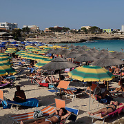 Thousands of mostly Italian tourists visit Lampedusa during the summer months. Most Lampedusani live from the work they do during the summer months all year round. During the winter months, unemployment on the island is extremely high