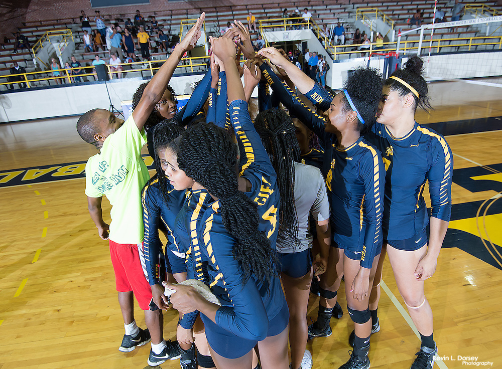 2016 A&T Volleyball vs Hampton