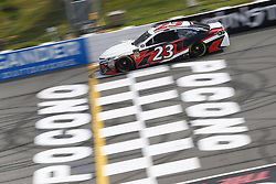 June 1, 2018 - Long Pond, Pennsylvania, United States of America - Gray Gaulding (23) brings his car down the frontstretch during qualifying for the Pocono 400 at Pocono Raceway in Long Pond, Pennsylvania. (Credit Image: © Chris Owens Asp Inc/ASP via ZUMA Wire)
