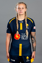 Victoria Foxwell during the Worcester Warriors Women Media Day - Ryan Hiscott/JMP - 28/09/2019 - SPORT - Sixways Stadium - Worcester, England - Worcester Warriors Women Media Day