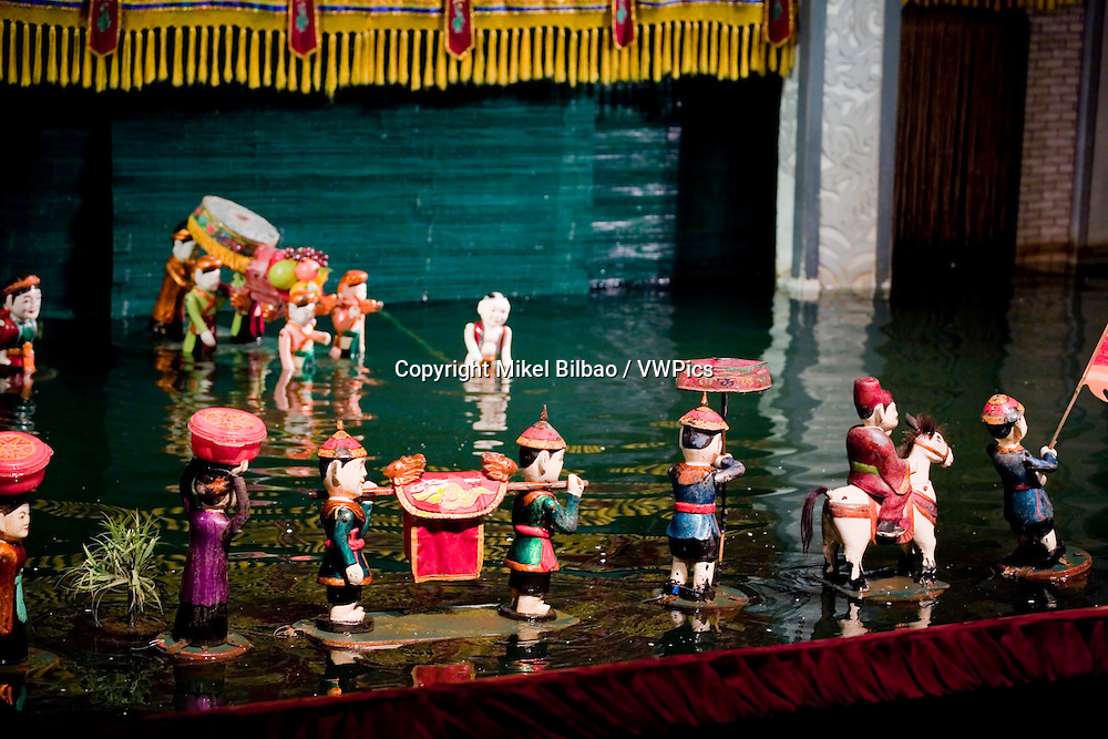 Puppets.<br /> Water puppet theather Thang Long.<br /> Hanoi, Vietnam.