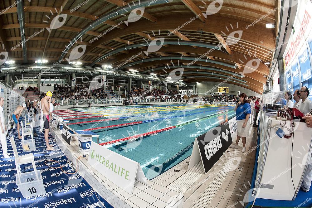 Stadio del Nuoto Riccione<br /> Campionati Italiani Assoluti Nuoto Primaverili Fin UnipolSai<br /> Riccione Italy 14-18/04/2015<br /> Photo Giorgio Scala/Deepbluemedia/Insidefoto