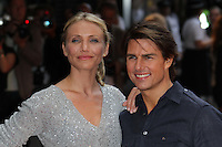 Cameron Diaz; Tom Cruise Knight and Day UK Premiere, held at the Odeon Cinema, Leicester Square, London, UK, 22 July 2010: For piQtured Sales contact: Ian@Piqtured.com +44(0)791 626 2580 (Picture by Richard Goldschmidt/Piqtured)