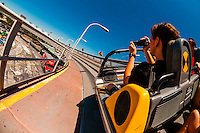 Test Track ride, Epcot, Walt Disney World, Orlando, Florida USA
