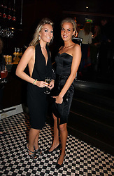 Left to right, OLIVIA BUCKINGHAM and LADY LOUISA COMPTON at The Christmas Cracker - an evening i aid of the Starlight Children's Charity held at Frankies, Knightsbridge on 13th December 2006.<br />