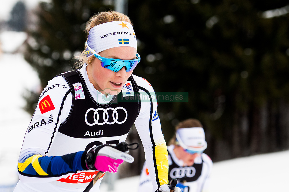 January 6, 2018 - Val Di Fiemme, ITALY - 180106 Jennie …berg of Sweden competes in women's 10km mass start classic technique during Tour de Ski on January 6, 2018 in Val di Fiemme..Photo: Jon Olav Nesvold / BILDBYRN / kod JE / 160122 (Credit Image: © Jon Olav Nesvold/Bildbyran via ZUMA Wire)