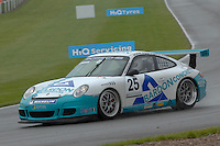 2009 Porsche Carrera Cup Great Britain.  Donington Park, Derby, United Kingdom. 16th-17th May 2009.  .(25) - Robert Lawson - JHR.World Copyright: Peter Taylor/PSP
