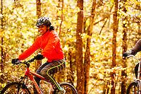 biking on the Virginia creeper trail Mountain biking man, woman, kids in virgina, north carolina, montana, and california.
