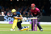 Gareth Berg of Hampshire batting during the Royal London 1 Day Cup Final match between Somerset County Cricket Club and Hampshire County Cricket Club at Lord's Cricket Ground, St John's Wood, United Kingdom on 25 May 2019.
