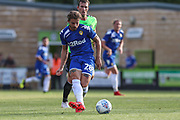 Leeds United's Gaetano Berardi(28) during the Pre-Season Friendly match between Forest Green Rovers and Leeds United at the New Lawn, Forest Green, United Kingdom on 17 July 2018. Picture by Shane Healey.