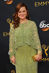 Amy Poehler at the 68th Annual Primetime Emmy Awards held at the Microsoft Theater in Los Angeles, USA on September 18, 2016.