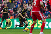 Nottingham Forest midfielder Robert Tesche (32) during the Sky Bet Championship match between Middlesbrough and Nottingham Forest at the Riverside Stadium, Middlesbrough, England on 23 January 2016. Photo by George Ledger.