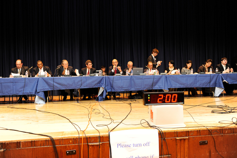 Public Meeting of the Panel for Educational Policy.High School of Fashion Industries