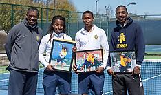 2018 NC A&T Men's Tennis vs UC Riverside (Senior Day)