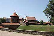 Lithuania, Kaunas, Old town The Kaunas Castle
