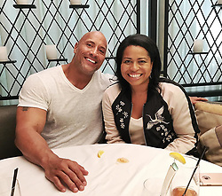 "Dwayne Johnson releases a photo on Instagram with the following caption: ""She had me at - I want to write a movie script that shows a raw, human side of you the world has never seen.\n\nA pleasure to sit for hours with the creator of POWER and prolific writer, @courtneyakemp. \nI was impressed at the deep dived research she did on my life and career before our meeting. She writes brilliantly flawed, edgy, exposed, vulnerable, intense characters and she had a take on my life in ways no writer ever has. \nA fascinating POV from this woman, on what makes me the man I am today. \nThis is the first step of many and projects like this take time. Great initial meeting and can't wait to dig in with her. \nRage.. Rage against the dying of the light. #JohnsonKemp #Collaboration"". Photo Credit: Instagram *** No USA Distribution *** For Editorial Use Only *** Not to be Published in Books or Photo Books ***  Please note: Fees charged by the agency are for the agency's services only, and do not, nor are they intended to, convey to the user any ownership of Copyright or License in the material. The agency does not claim any ownership including but not limited to Copyright or License in the attached material. By publishing this material you expressly agree to indemnify and to hold the agency and its directors, shareholders and employees harmless from any loss, claims, damages, demands, expenses (including legal fees), or any causes of action or allegation against the agency arising out of or connected in any way with publication of the material."