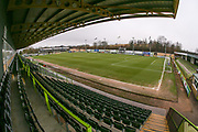 The New Lawn, home of Forest Green Rovers during the EFL Sky Bet League 2 match between Forest Green Rovers and Coventry City at the New Lawn, Forest Green, United Kingdom on 3 February 2018. Picture by Shane Healey.