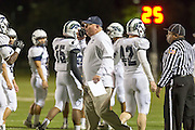McNeil head coach Lee Penland Thursday at Kelly Reeves Athletic Complex.  (LOURDES M SHOAF for Round Rock Leader)