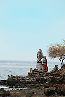 Sea Temple on the headland at Polaki, Bali, Indonesia.